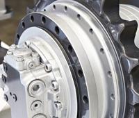 Hyundai Excavator Propel Motor